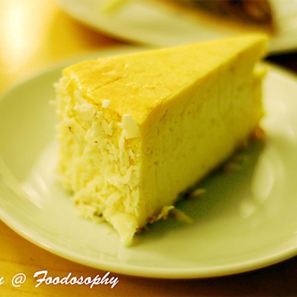 Mango Cheesecake @ Sweet Obsession Cakes & Pastries Ltd