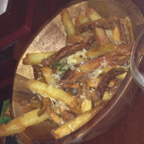 Truffle Parmesan Fries @ the local craft food & drink