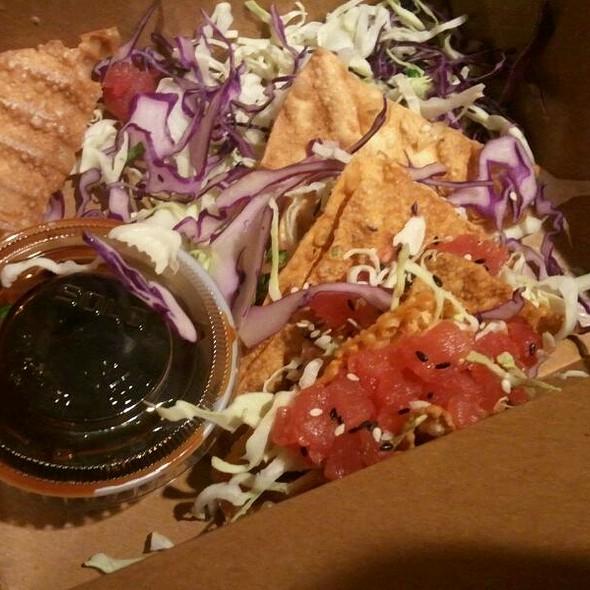 Ahi Tacos - Perry's - Embarcadero, San Francisco, CA