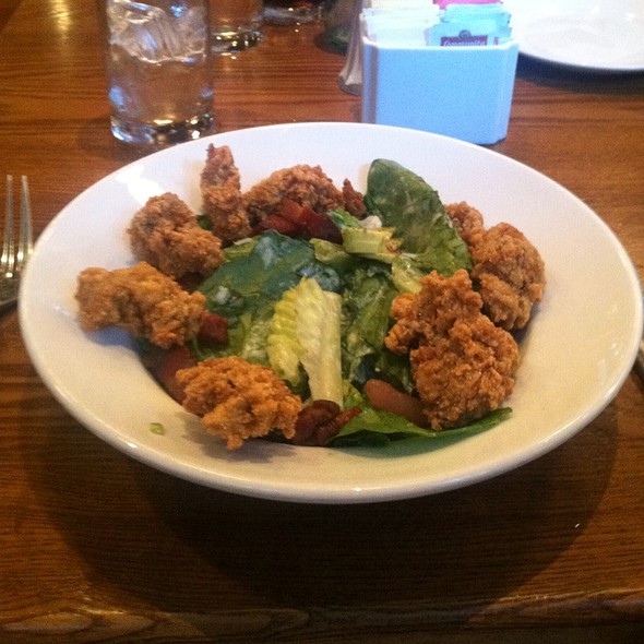 Fried Oyster Salad @ Luke's New Orleans