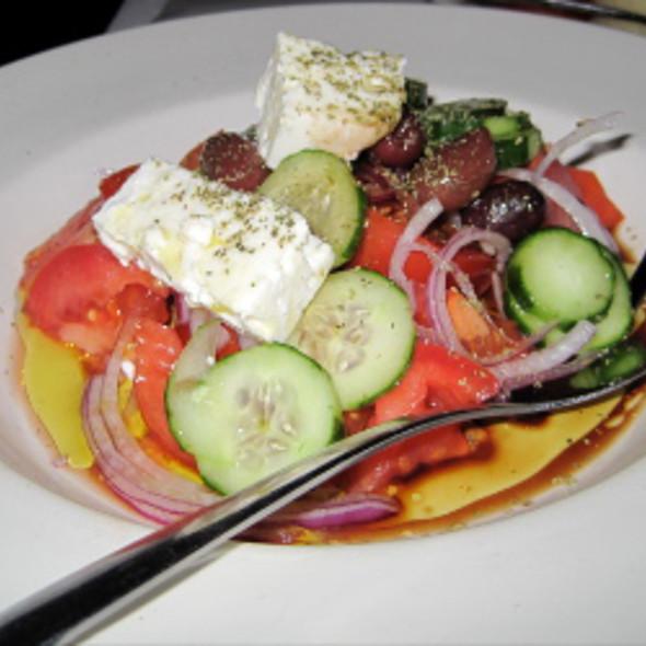 Horiatiki Salad @ Mythos Restaurant