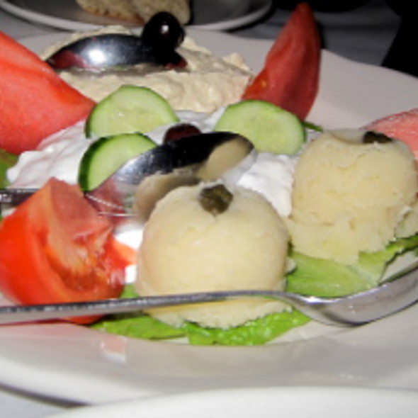 Mediterranean Combo @ Mythos Restaurant