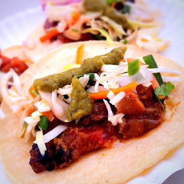 Smoked Beef Tacos @ Gorilla Gourmet