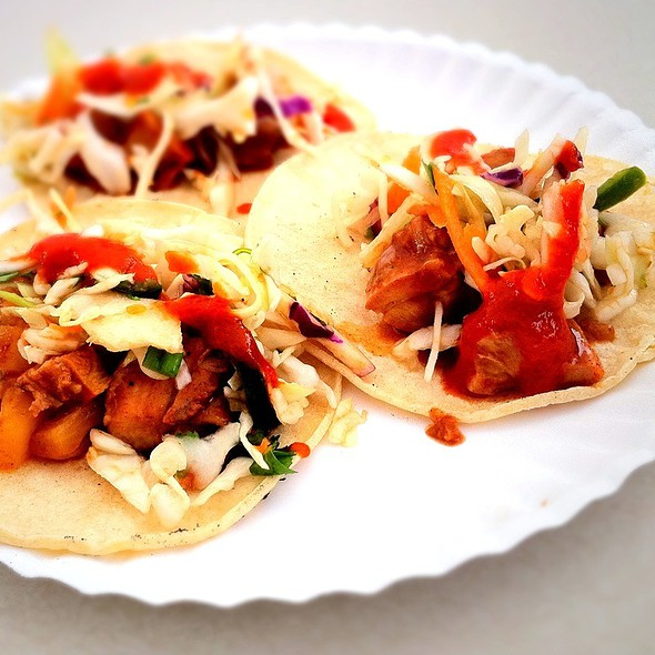 Pineapple Chicken Tacos