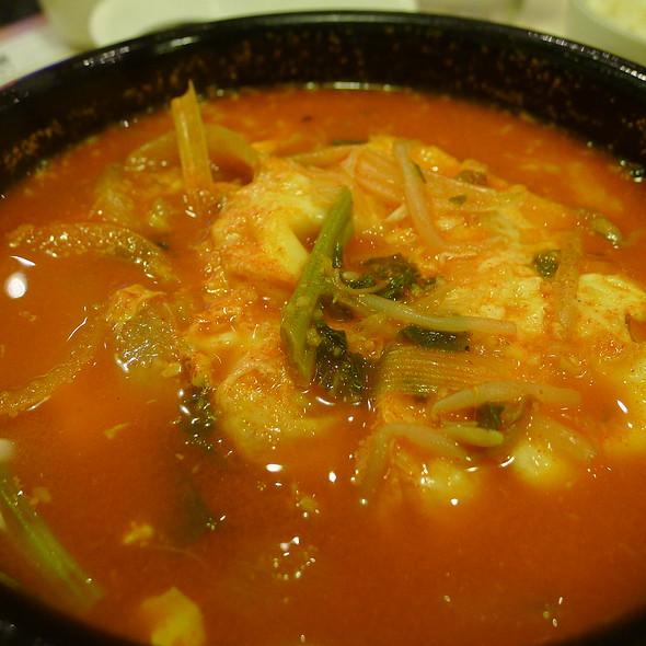 Yuk Kae Jang - Chilli Beef Soup