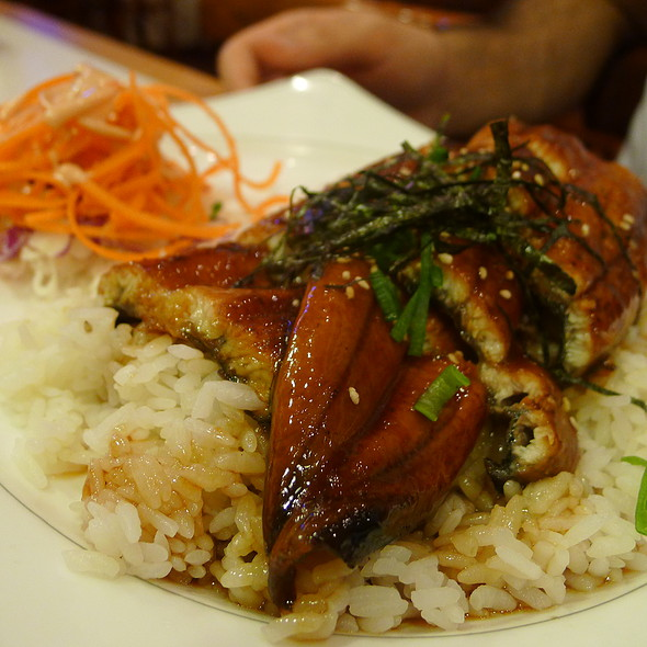 Grilled Eel with Sweet Sauce over Steamed Rice