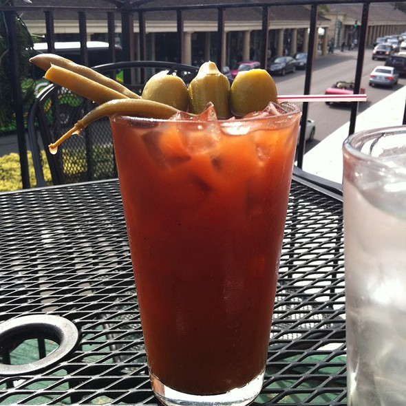 Bloody Mary Cocktail @ franks resturant