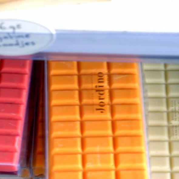 Raspberry and Orange Chocolate Bars @ Jordino