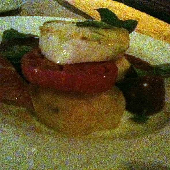 Heirloom Tomatoes with House-Made Mozzarella - Mundaka, Carmel, CA