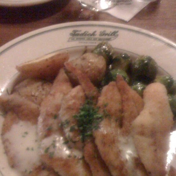 Sand Dabs @ Tadich Grill
