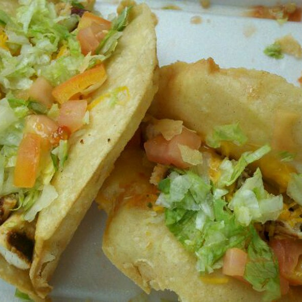 Chicken Puffy Tacos @ Boba Ni Taco