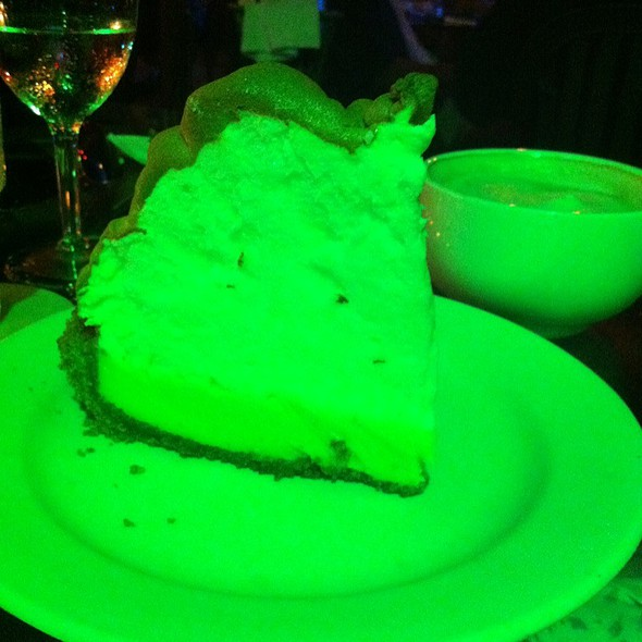 Key Lime Pie @ Blue Heaven Restaurant