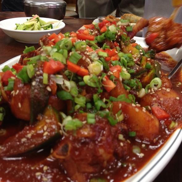 Stew Spicy Chicken @ Western Doma Noodles