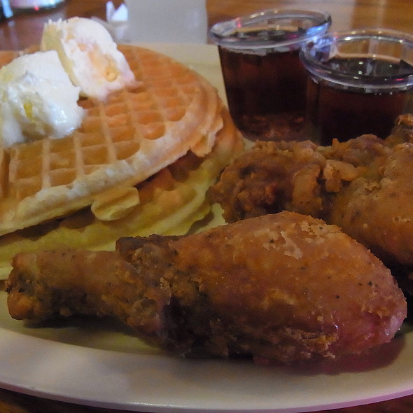 Chicken and Waffles @ Roscoe's House of Chicken & Waffles