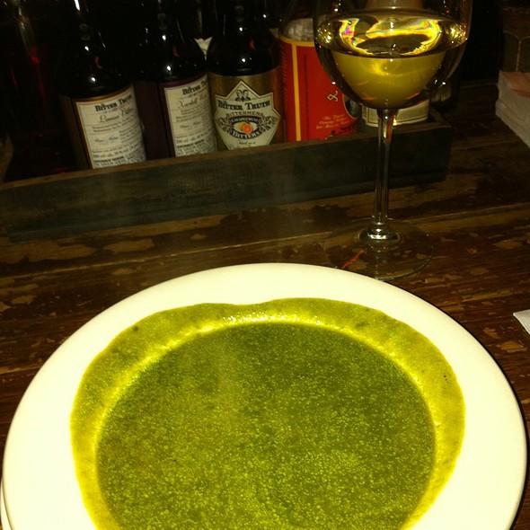 Spinach Soup Aka The Iron Blast @ Fanny