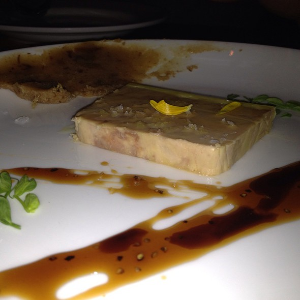 Foie Gras Terrine, Date Butter, Saba @ Animal Restaurant
