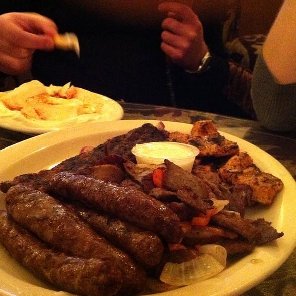 Mixed Grill Platter @ Mocha Hookah