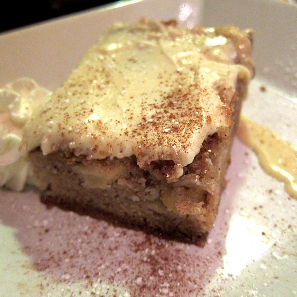 Dutch Apple Cake - Ze Mean Bean Cafe, Baltimore, MD