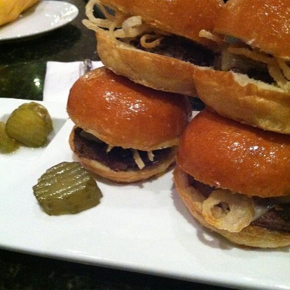 Kobe Beef Sliders With Homemade Pickles - Siro Urban Italian at Marriott World Center, Orlando, FL