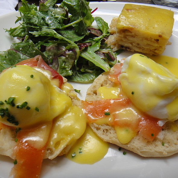 Smoked Salmon Benedict - Smorgas Chef Wall Street, New York, NY