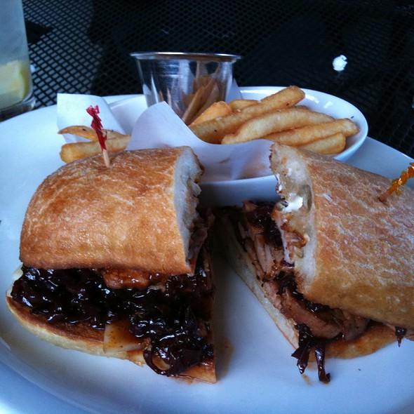 Pork Tenderloin Sandwich - Brooklyn Cafe, Sandy Springs, GA
