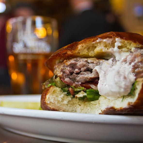 Lamb Burger - de Vere's Irish Pub - Sacramento, Sacramento, CA
