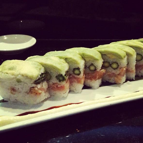Avacado, Asparagus, And Albacore Box Roll - Kabuki Japanese Restaurant - Las Vegas, Las Vegas, NV