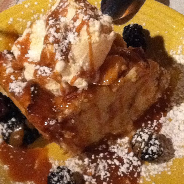 Autumn Bread Pudding - Fran's Filling Station, Charlotte, NC