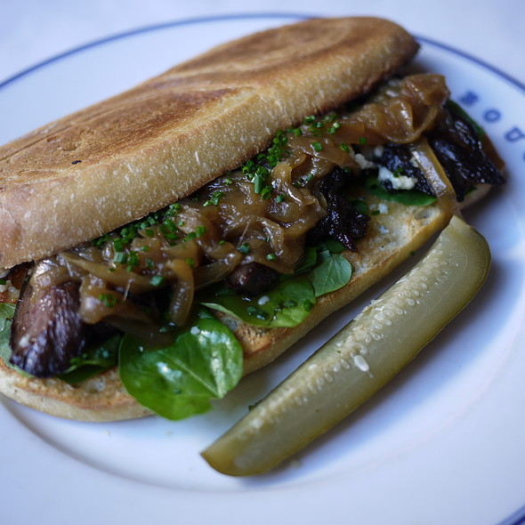Black & Blue Steak Sandwich - Bouchon at The Venetian, Las Vegas, NV