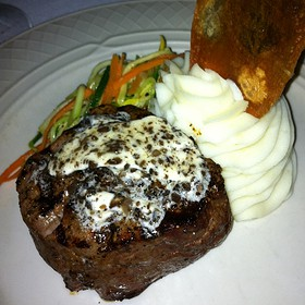 Filet Mignon With Truffle Butter - Collage Restaurant, St. Augustine, FL