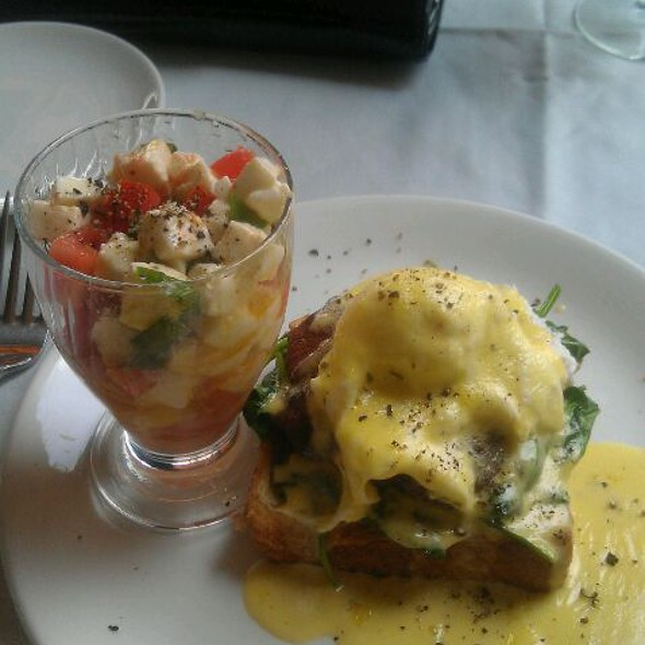Crabcake Benedict  - Corner Bistro & Wine Bar, Jacksonville, FL