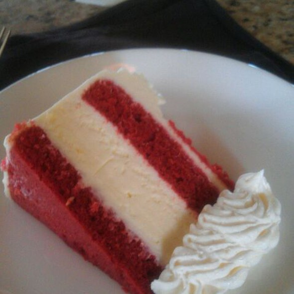 Red Velvet Cheesecake - Corner Bistro & Wine Bar, Jacksonville, FL
