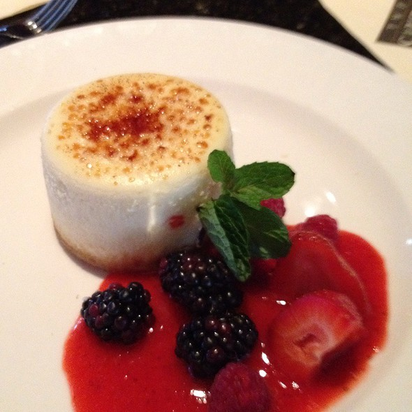 Cheesecake - The Capital Grille - Las Vegas, Las Vegas, NV