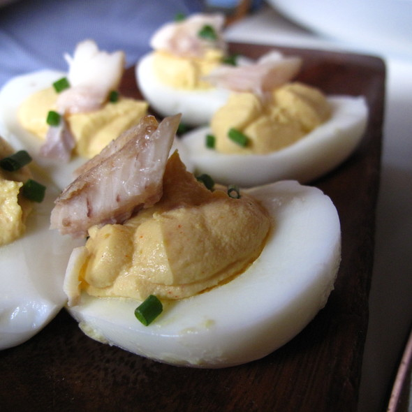 Deviled Eggs - Cookshop, New York, NY