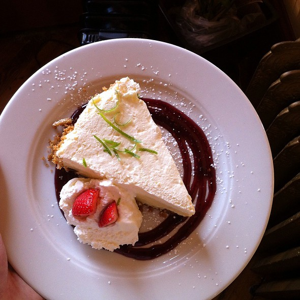 Key Lime Pie - Catherine's Restaurant, Kennett Square, PA