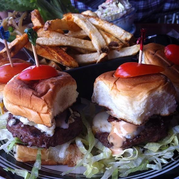Mini Burgers - Hamburger Mary's, West Hollywood, CA