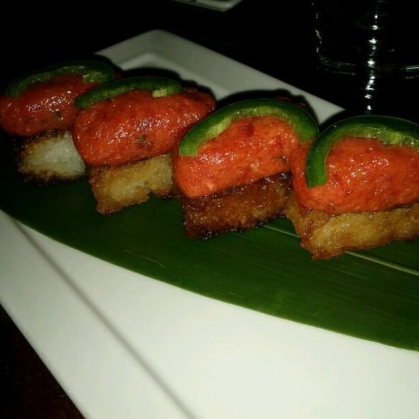 Crispy Rice with Spicy Tuna - Koi - Bryant Park, New York, NY