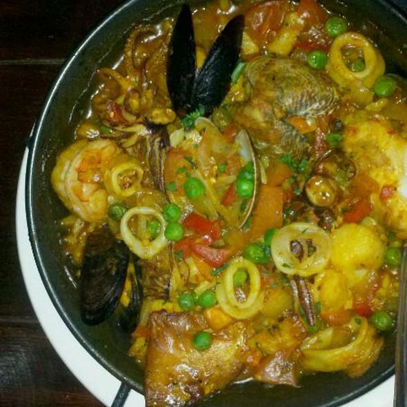Paella De Mariscos - Andalucia Tapas Restaurant & Bar, Houston, TX