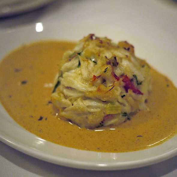 crab cake - Del Frisco's Double Eagle Steak House - Las Vegas, Las Vegas, NV
