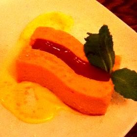 Guava Cheesecake - Michael's Tasting Room, St. Augustine, FL