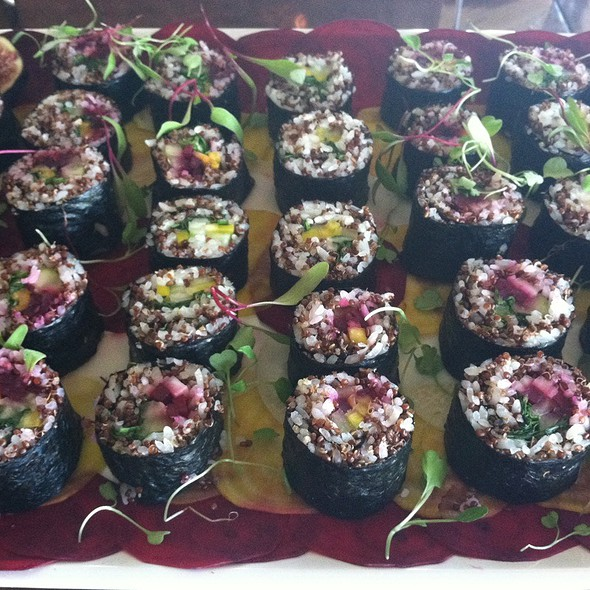Vegetarian Quinoa Sushi Rolls - La Gran Terraza - University of San Diego, San Diego, CA
