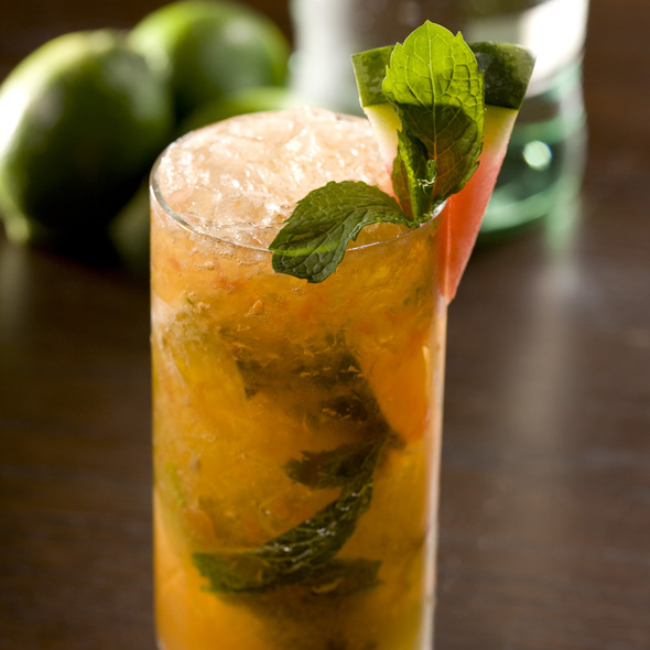 Passion Fruit Mojito - Brand Steakhouse - Monte Carlo, Las Vegas, NV