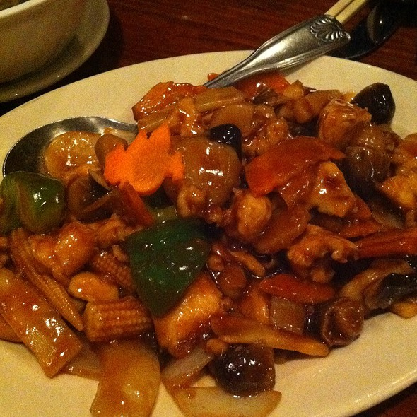 Black Bean Chicken - Kam's Wok Wine Dine, Houston, TX