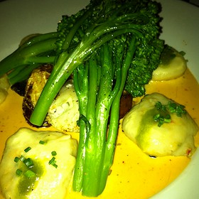 Goat Cheese And Crab Dumplings - Truluck's Seafood, Steak and Crab House - Southlake, Southlake, TX
