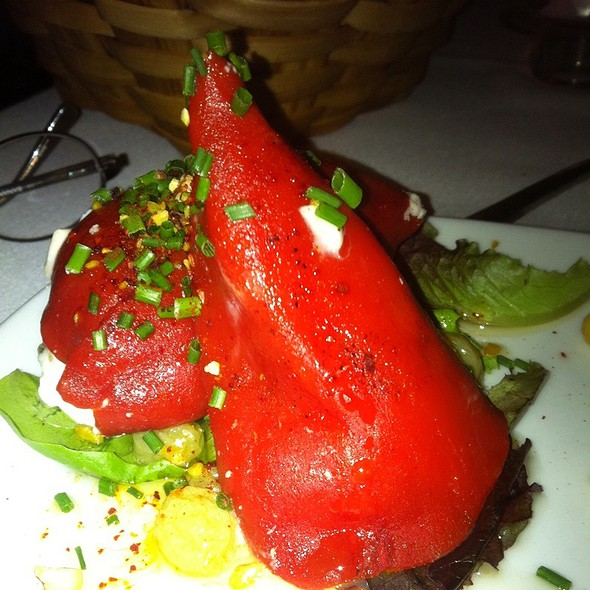 Stuffed Piquillo Peppers - Piperade, San Francisco, CA