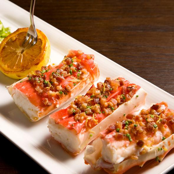 King Crab Scampi - Brand Steakhouse - Monte Carlo, Las Vegas, NV