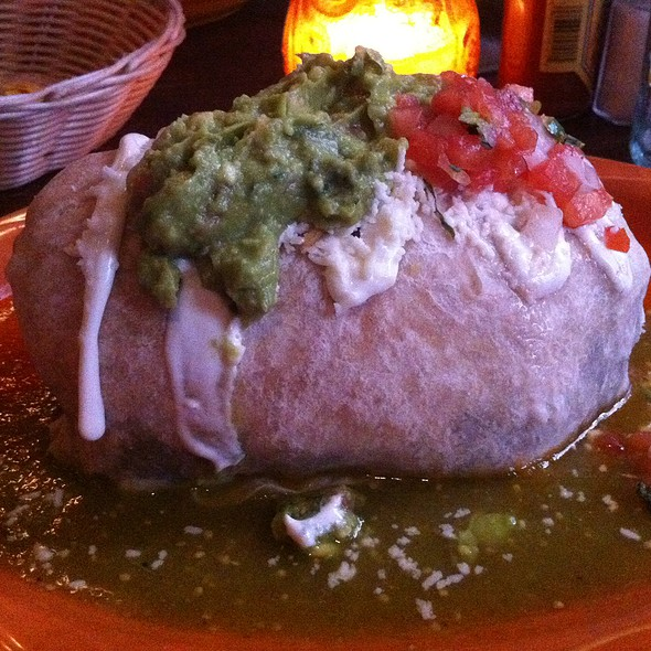 Pork Burrito - Mad Dog & Beans Mexican Cantina, New York, NY