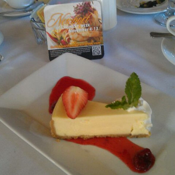 New York Style Cheesecake - One Bellevue, Newport, RI