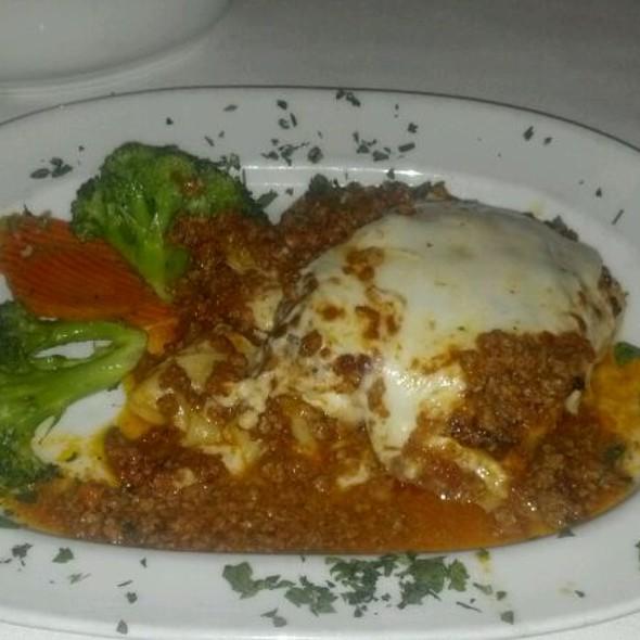 Lasagna al Saltimbocca - La Torretta Ristorante, Scottsdale, AZ