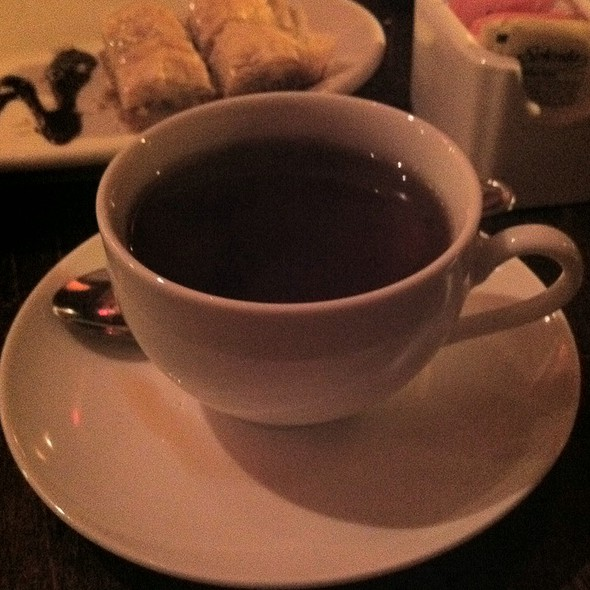 Turkish Tea - Talulla's, Chapel Hill, NC
